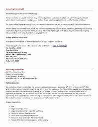 Cover Letter For Internship In Accounting And Finance Entry