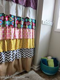 Diy Shower Curtain Ideas To Change The Dcor Of Your Bathroom With And Perfect Design