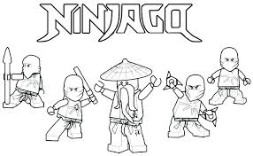 Ninjago Movie Coloring Sheets Ninja Coloring Page Pages Printable