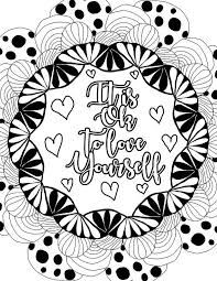 See more ideas about inspirational quotes, quotes, color quotes. Pin On Words Coloring Pages For Adults