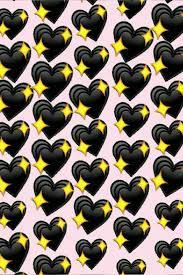 Wallpaper Black Heart Emoji – WallpaperShit