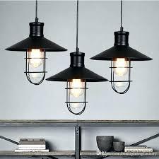 black kitchen island pendant lights industrial lighting for strial rustic vintage lamp led