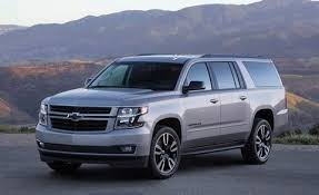 Chevrolet Suburban Towing Capacity Chart 10 Best Full Size Suvs Of 2019 Every Large Suv Ranked
