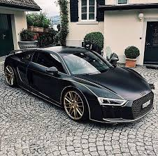 black audi r8 black rims. matte black audi r8 with golden rims u0026 stripes audir8