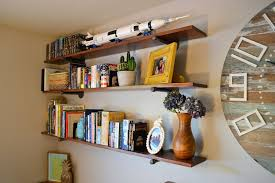 industrial style shelving. Picture Of Industrial-Style Pipe Wall Shelves Industrial Style Shelving