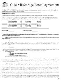 Garage Rental Contract Template Sample Standard Agreement – Poquet