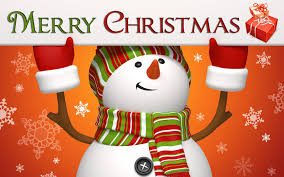 Greetings Quotes For Christmas By Christmas Snowman
