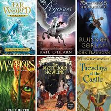 this is a great list of fantastic book series for kids ages 8 12