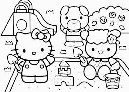 Hello Kitty Da Colorare Disegni Da Stampare Gratis