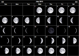 Full Moon July 2018 Calendar Moon Phase Calendar Moon