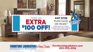 Furniture Liquidators Columbus Day 2017