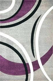 purple rug incredible eggplant area contemporary rugs 5 x 7 pink black grey and medium