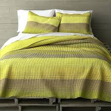 view in gallery yellow green striped bedding and blue bedspreads fabulous modern finds