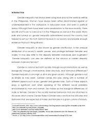 Essay Gender Equality Essay With Popular Argumentative