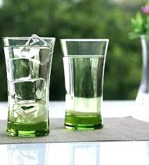best 8 oz drinking glasses with lids everyday glassware sets farmhouse