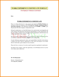 Certificate Of Employment Separation Sample Copy Example