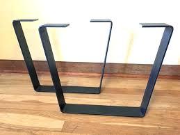 inch tall steel coffee table base set flat black metal legs home depot co rustic metal coffee table wood