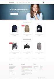 Free Psd Ecommerce Website Template