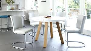 white round table set beautiful white round dining table 4 legs contemporary regarding design 5 all
