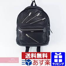 saint lau paris leather zip backpack saint lau paris leather zip backpack rucksack black father s