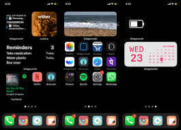 customise your iphone home screen