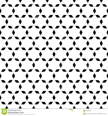 Naadloos Abstract Ster Zwart Wit Behang Vector Illustratie