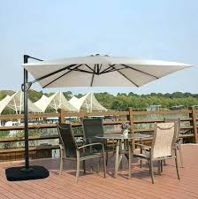 solar light patio umbrellas with lights of umbrella unique best cantilever and images lighted offset solar light patio umbrellas