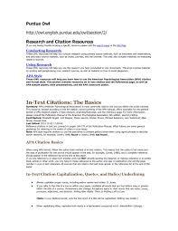 Purdue Owl Apa Format Template Essay Outline Owl Purdue