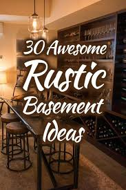 30 awesome rustic basement ideas photo