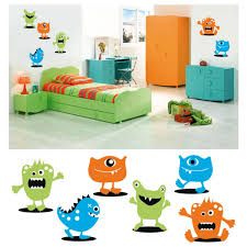 vinilo mounstritos little monster infantil