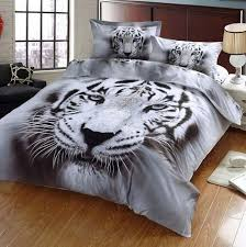 Tiger 3D Bedding Sets Printed 3D Tiger Bedding Covers SCTrending