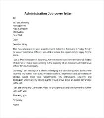 Sample Resume For Administrative Officer Best Of Administrative Officer Cover Letter Administrative Officer Cover