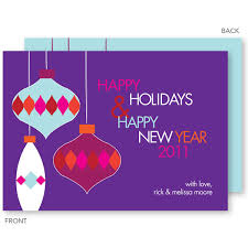 Purple Christmas Card Hanging Ornaments Purple Christmas Cards