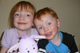 The beloved stuffed toy was found by seven-year-old Abigail Brown and her brother Jervis, ... - Abigail-Brown
