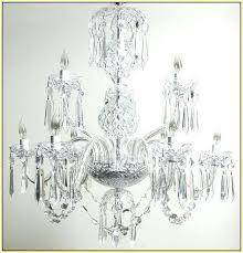 vintage crystal chandelier antique prisms