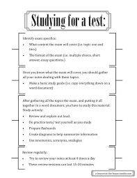 this guide to helping me study for a test because in high school i  this guide to helping me study for a test because in high school i was