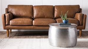 Overstock Living Room Furniture Tips Tricks For Cleaning Leather Furniture Overstockcom