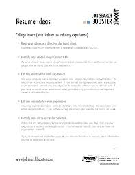 Example Of A Good Objective On A Resume Writing A Cv Career Objective Good For Resume First Job Objectives