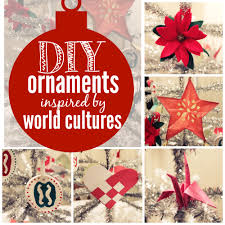 Multicultural Ornaments Collage