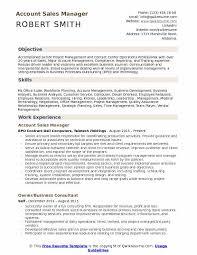 Resume For Team Leader In Bpo Account Sales Manager Resume Samples Qwikresume