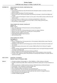 Telecom Resume Examples Telecommunications Resume Samples Velvet Jobs 5
