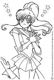 Small Picture Sailor jupiter the warrior coloring pages Hellokidscom