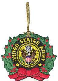 US Army Christmas Ornament