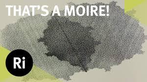 Moire Pattern Amazing Incredible Moiré Patterns YouTube