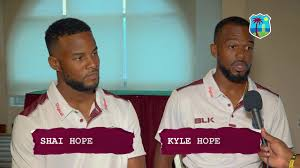 Interview of West Indian Hope brothers - Shai Hope & Kyle Hope at ...