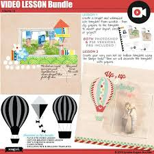 Kite And Hot Air Balloon Video Lesson Bundle Template Pdf Templates ...