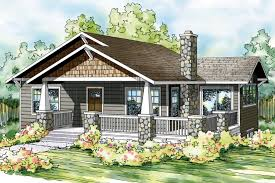 bungalow house plan lone rock 41 020 front elevation