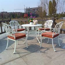 cast aluminum patio chairs. 5-piece Cast Aluminum Patio Furniture Garden Outdoor Durable And Used For Years Chairs U