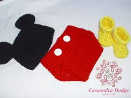 Mickey Mouse Crochet Pattern Free Simple Design Ideas