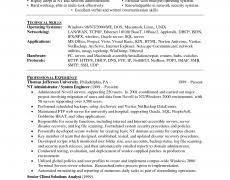 Systems Administrator Resume 12 Techtrontechnologies Com